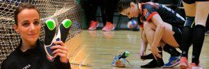 Sabine Pedersen Align Footwear® indlægssåler professionel håndboldspiller FCM