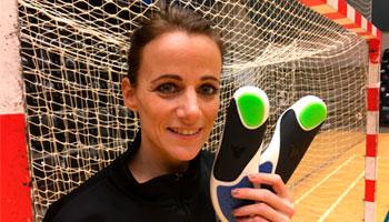 Sabine Pedersen Align Footwear indlægssåler professionel håndboldspiller FCM