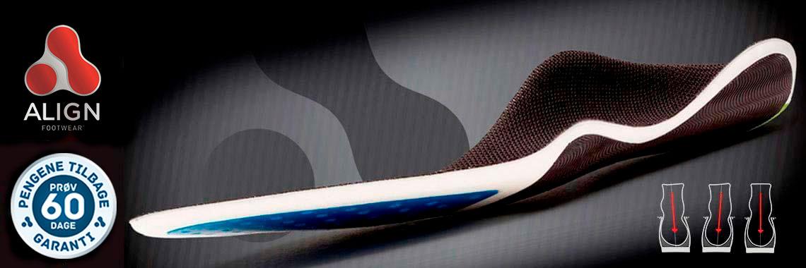 Align Footwear® indlægssåler