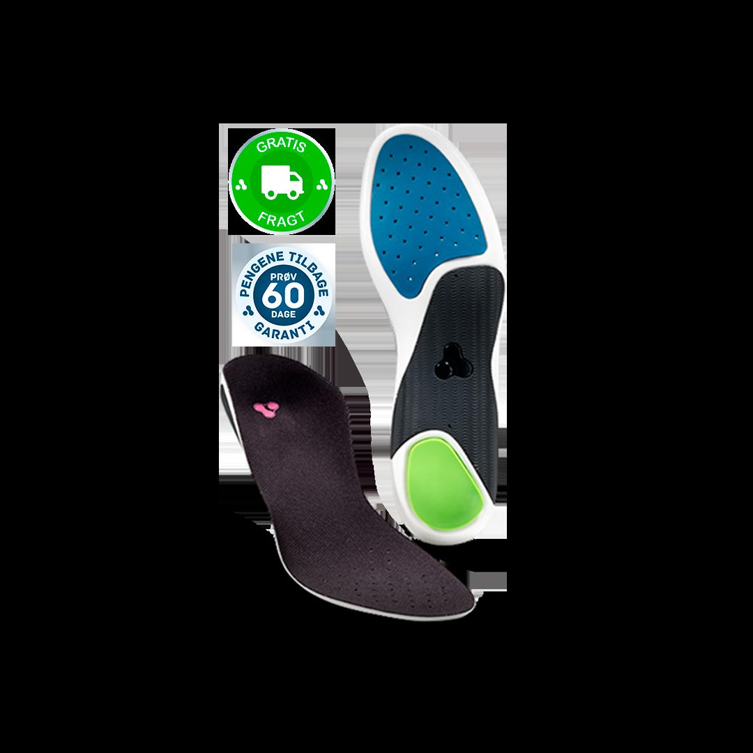 Såler i sandaler Patenteret indlægssåler fra Align Footwear »